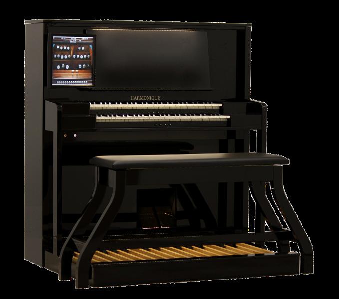 harmonique orgel met scherm