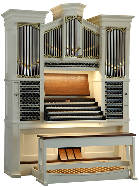Custom-made hauptwerk organ