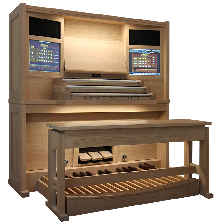 Sonnette organ a classic hauptwerkorgan of noorlander organs for Classic house organ bass