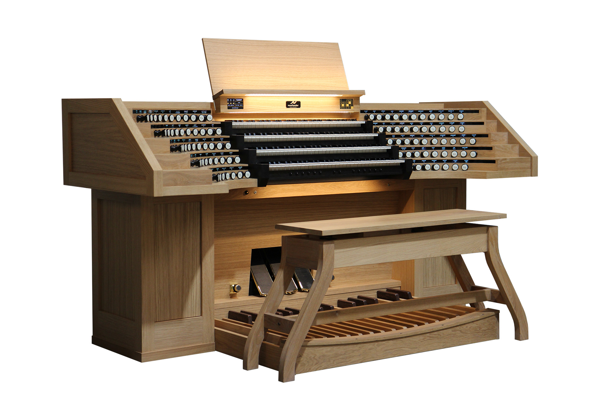 Orgel op maat gemaakt